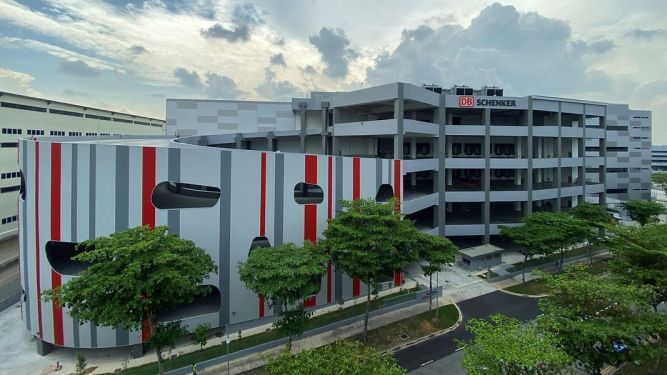 DB Schenker opens €101 million warehouse in Singapore