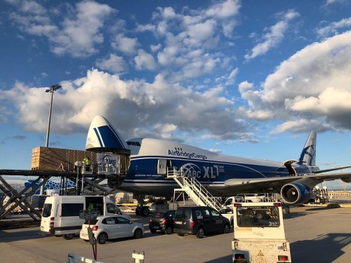 AirBridgeCargo takes supersize shipment with B747-8F nose job