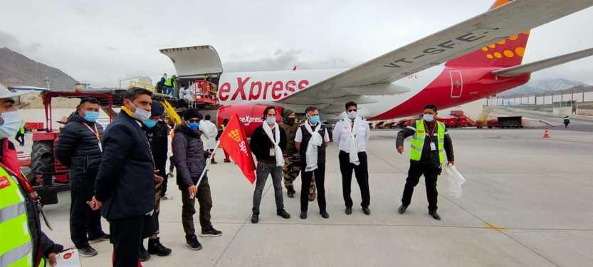SpiceJet starts winter cargo flights to Ladakh capital