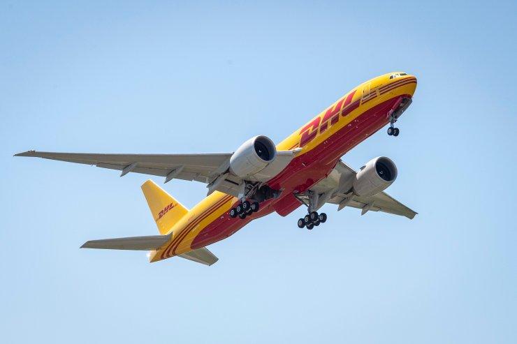 DHL Express Boeing aircraft