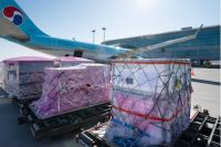 Korean Air Vaccine Ingredient Shipment