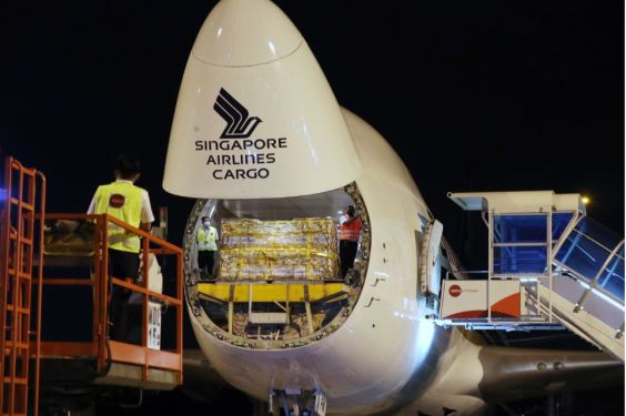 SIA Cargo moves first batch of Covid-19 vaccines to Singapore