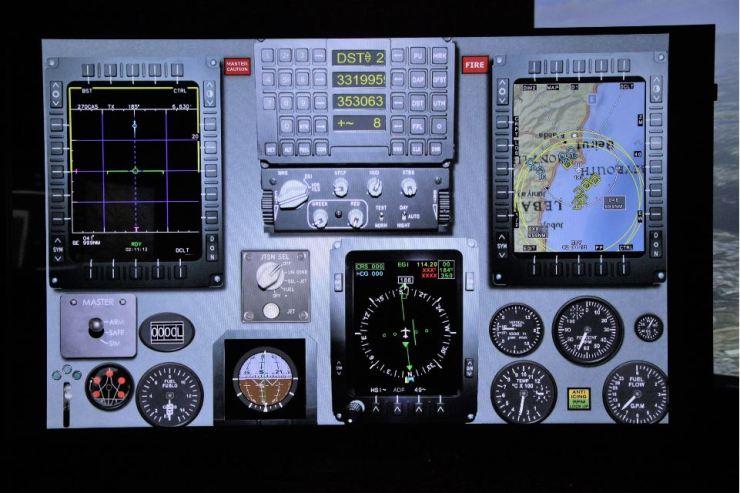 Avionic upgrade simulator
