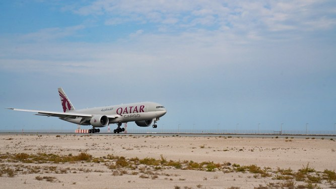 QR Cargo hopes for ripple effect on sustainability