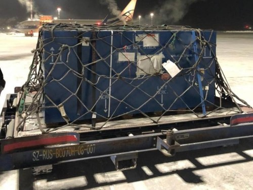 ATRAN, ABC deliver engines from Russia to France