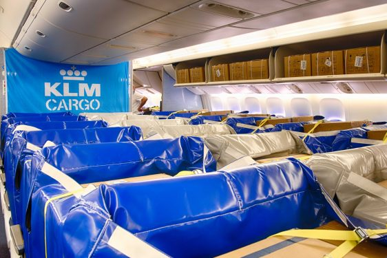Dutch innovation: KLM introduces cargo seat bags