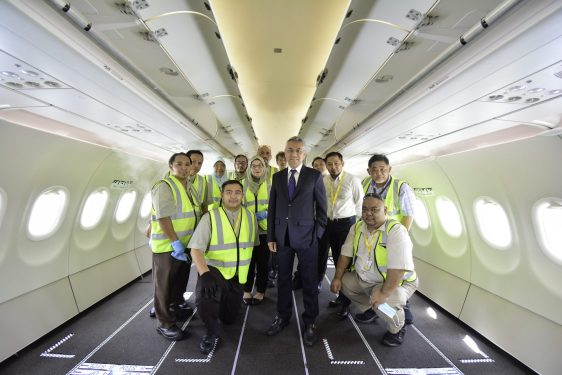 Royal Brunei's A320 cargo-in-cabin flights set to take off