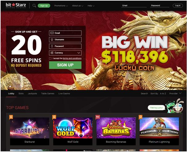 Bitstarz- Canadian Bitcoin Casino