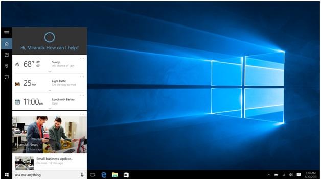 Cortana and paypal