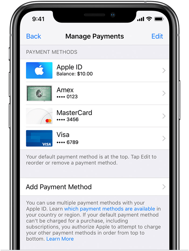 How to add a PayPal account to your Apple ID