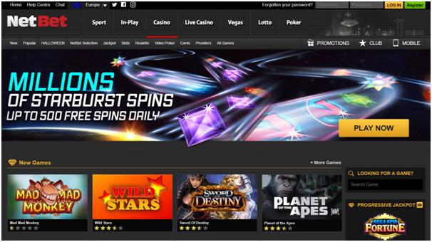 Netbet casino Canada