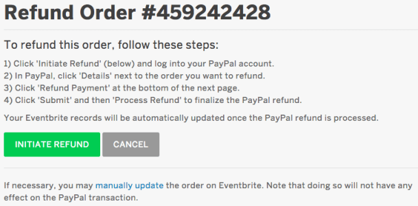 How do refunds work in PayPal and how can I request a refund?