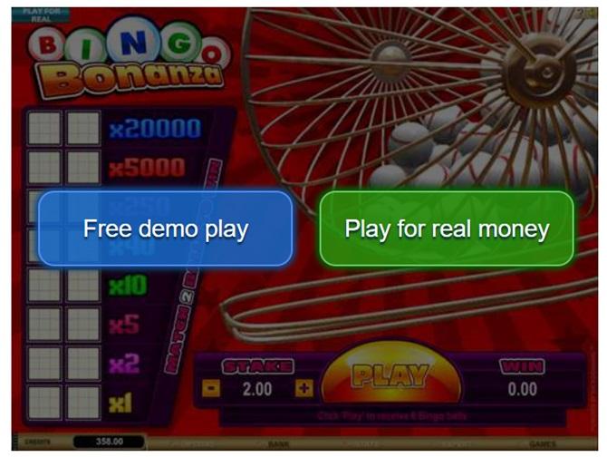 Play Bingo Bonanza at online casinos in Canada
