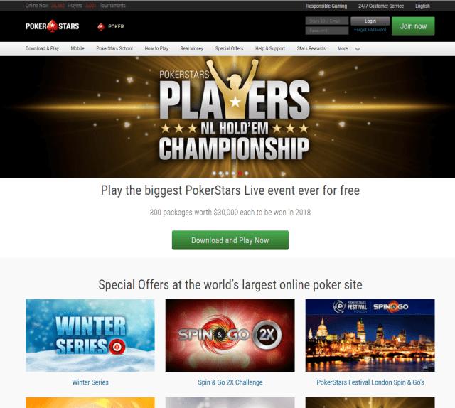 Pokerstars paypal canada