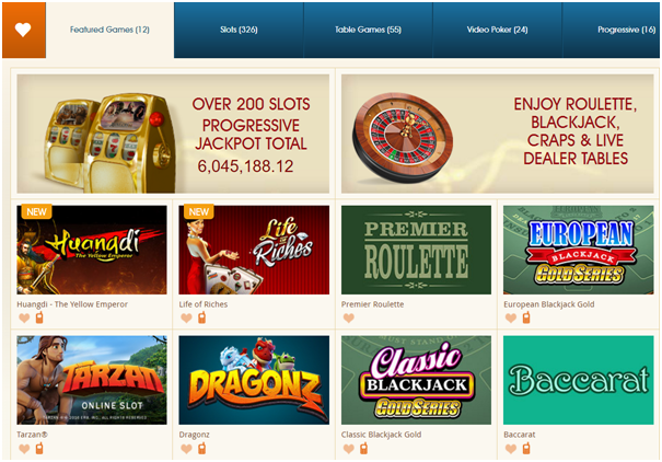 Royal Vegas casino games