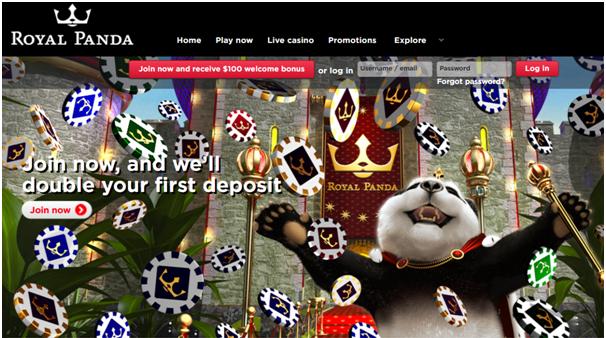 Royal Panda Casino Canada