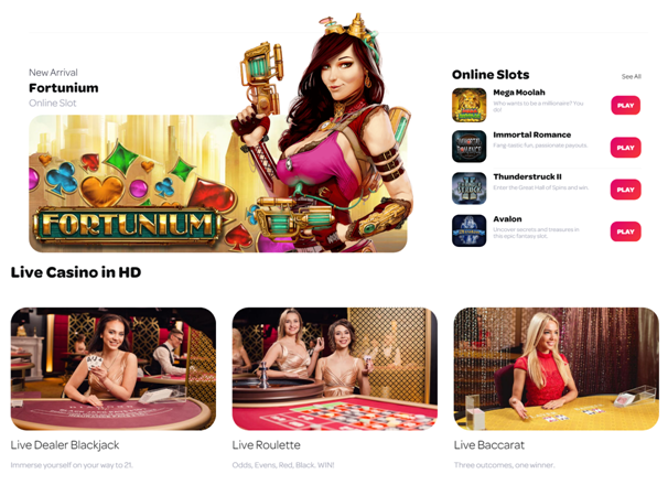 Spin casino games to play
