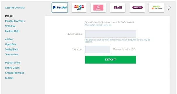 Online Casino Paypal Withdrawal