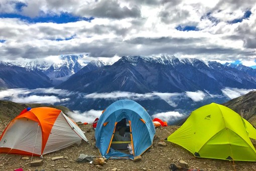 •La tente familiale de 3 à 6 places
