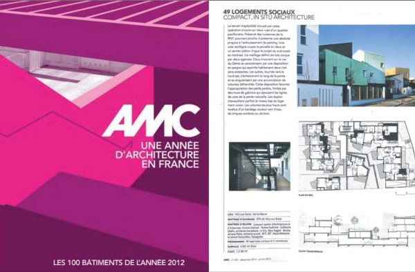 AMC – ANNUEL 2012 – Les sentes du coteau – OPH Vitry