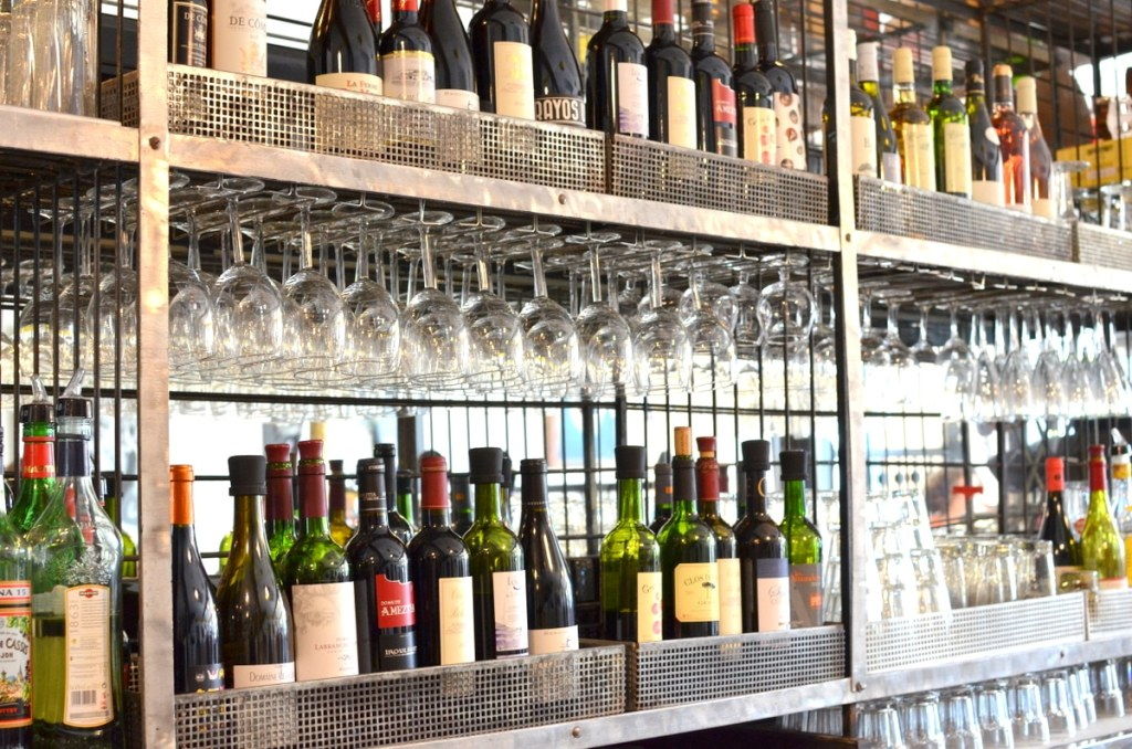 """La bicoque"" brasserie Anglet carte des vins"