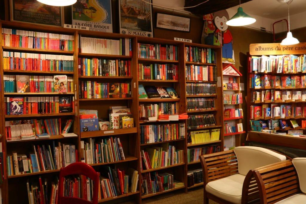 librairie-rayon enfant