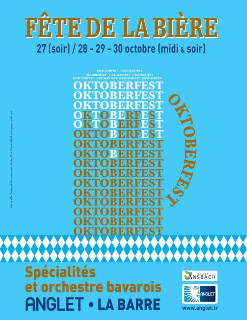 oktoberfest fete de la bière à Anglet