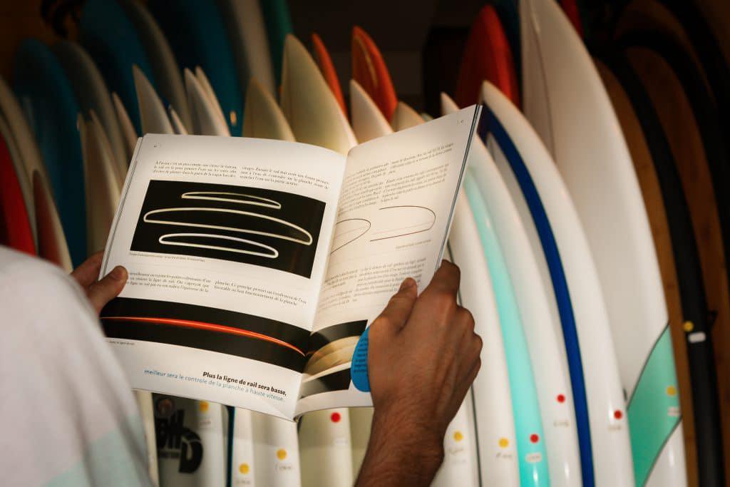 comprendre le volume de votre planche de surf