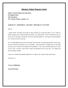 Advance salary request letter template by payslipstemplates advance salary request letter template spiritdancerdesigns Images