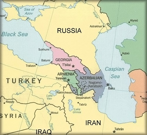 Image result for caucasus middle east