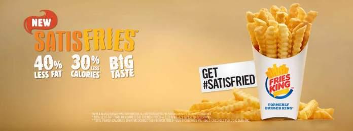 Fries King Promosyon