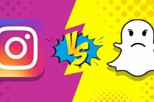 Instagram hikayesi Snapchat