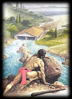 Cuarto trabajo de Heracles: Limpiar los establos de Augías