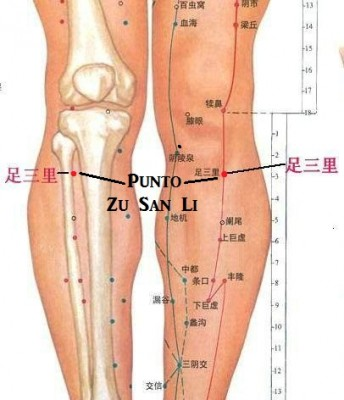 puntos de acupuntura para la erección