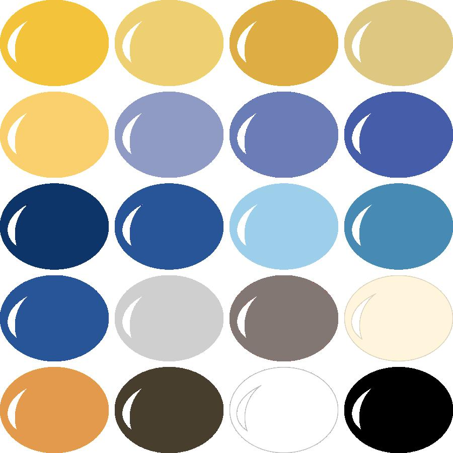 InVue Color Palette Classic Hanukkah Pazzles Craft Room