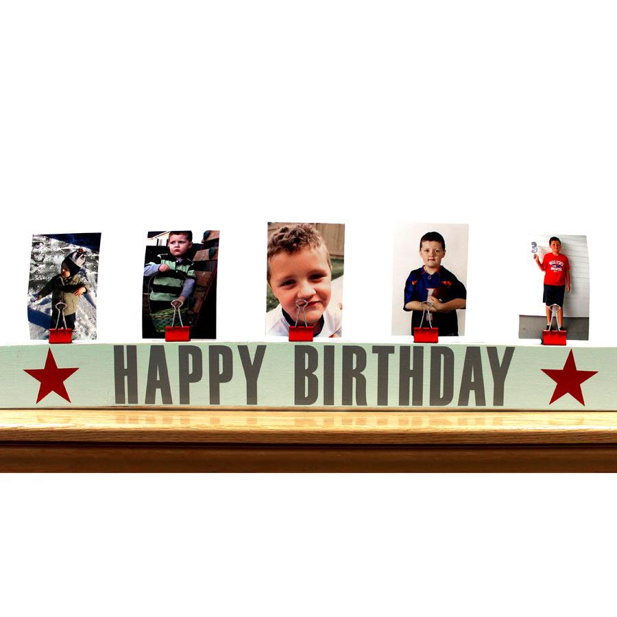 Happy Birthday Wood Sign Pazzles Craft Room