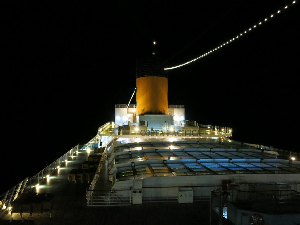 cuore mediterraneo costa pacifica notte
