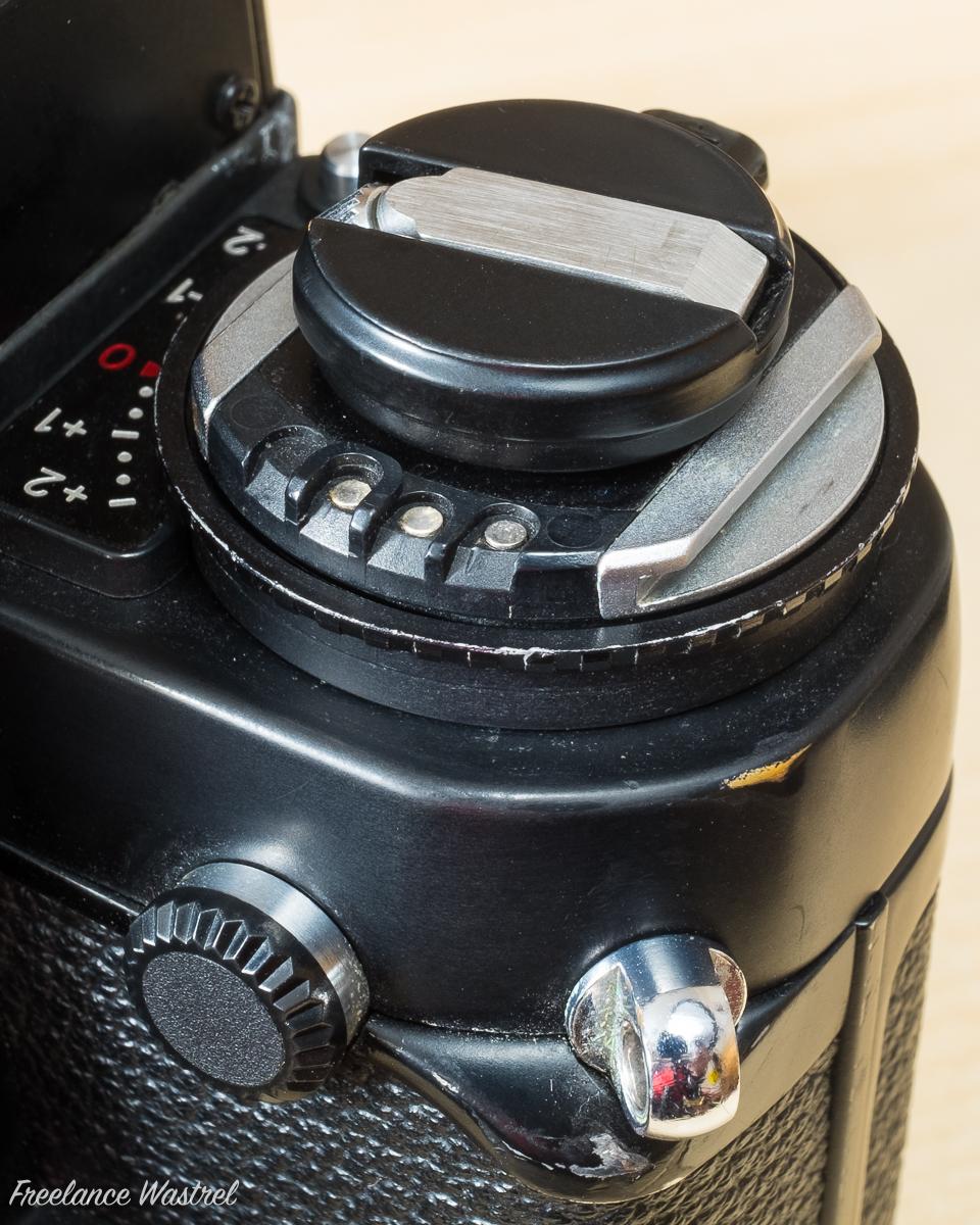 Nikon F3HP Accessory Shoe