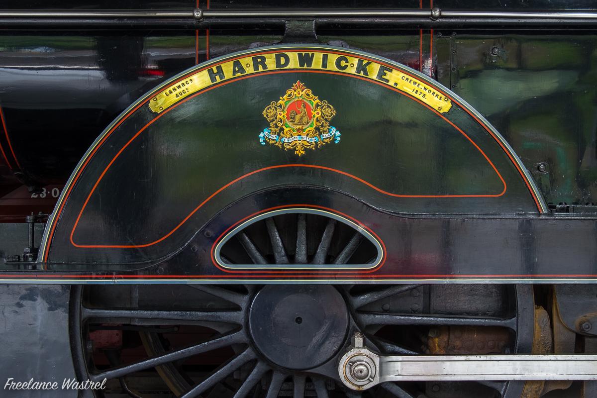 L&NWR Precedent class 2-4-0 No.790 'HARDWICKE'