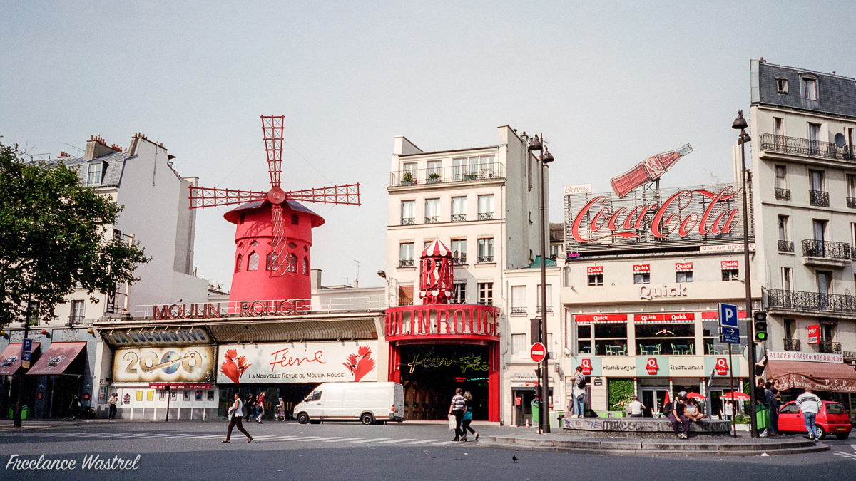Moulin Rouge, Paris, September 2000