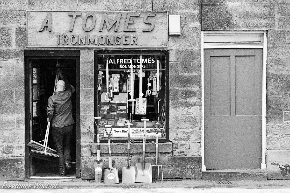 A Tomes, Ironmonger