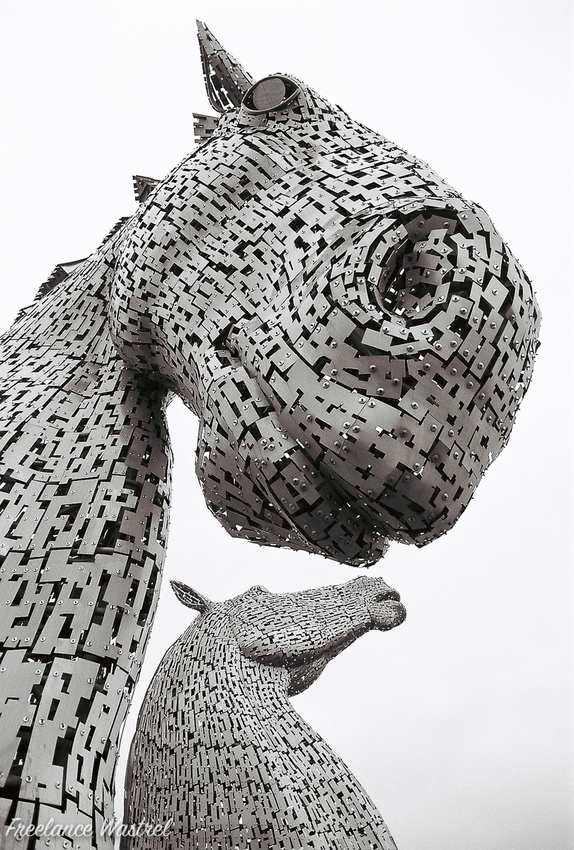 The Kelpies, October 2017