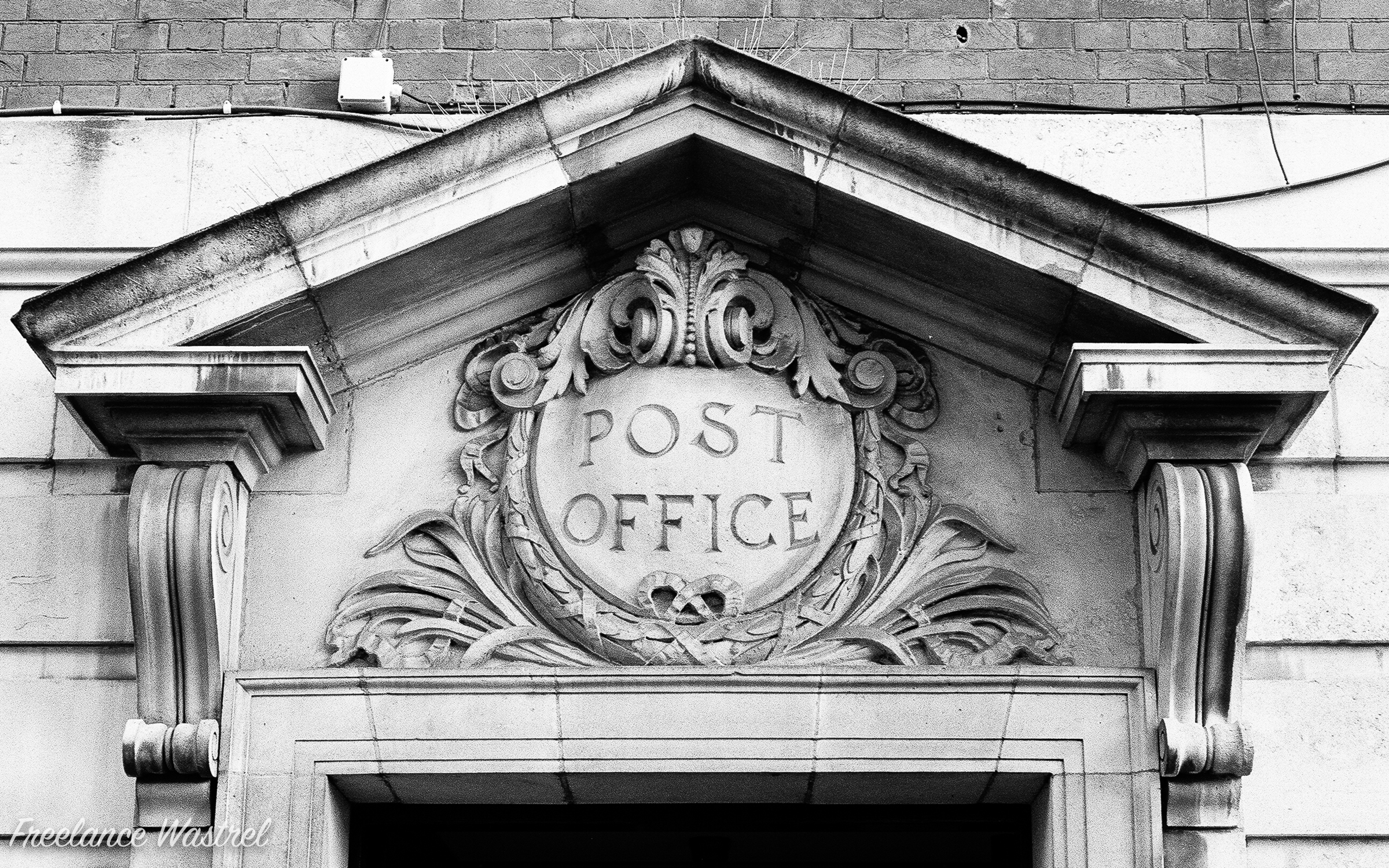 The old Post Office, Ilkeston.