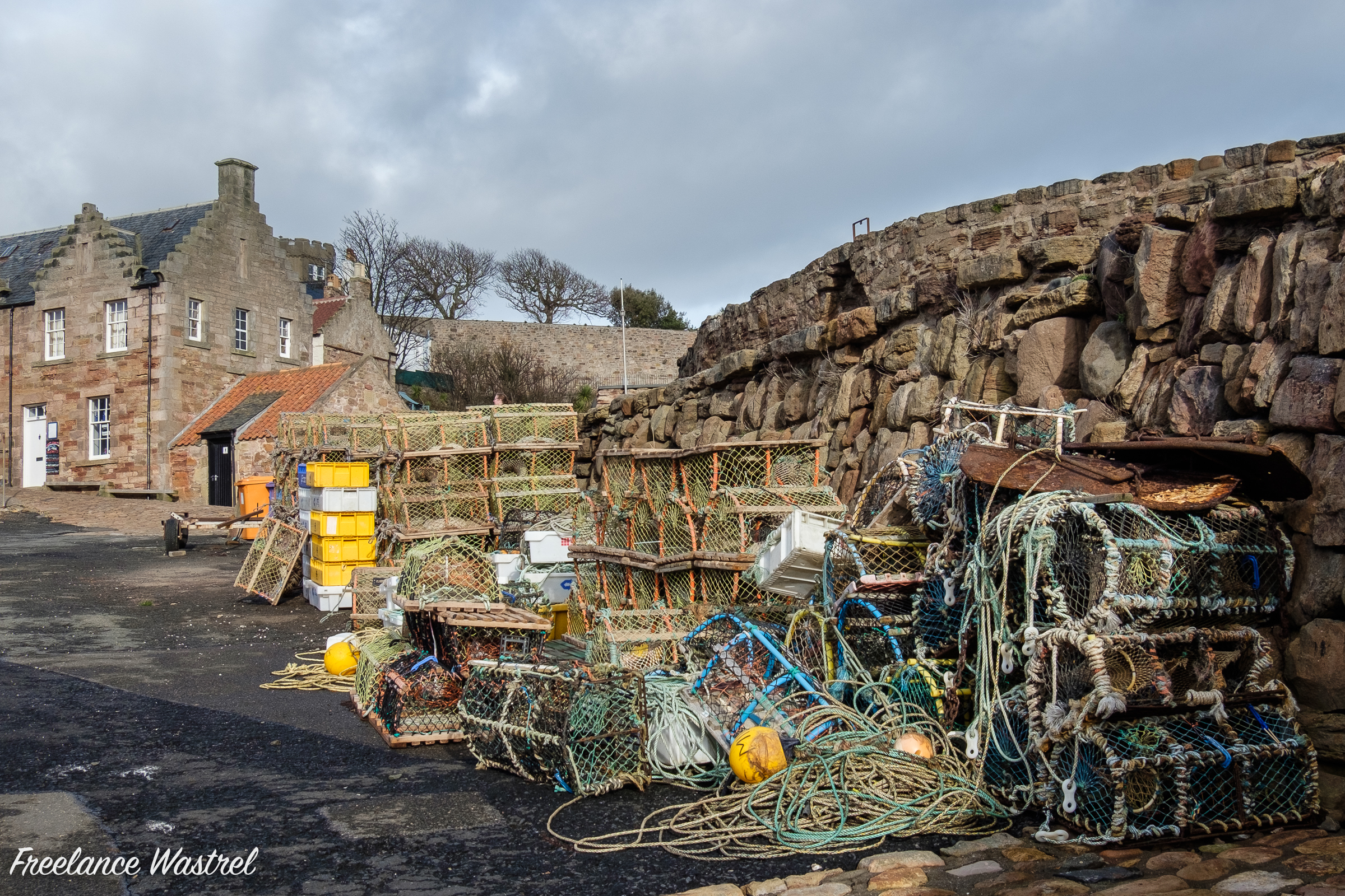 Creels at Crail