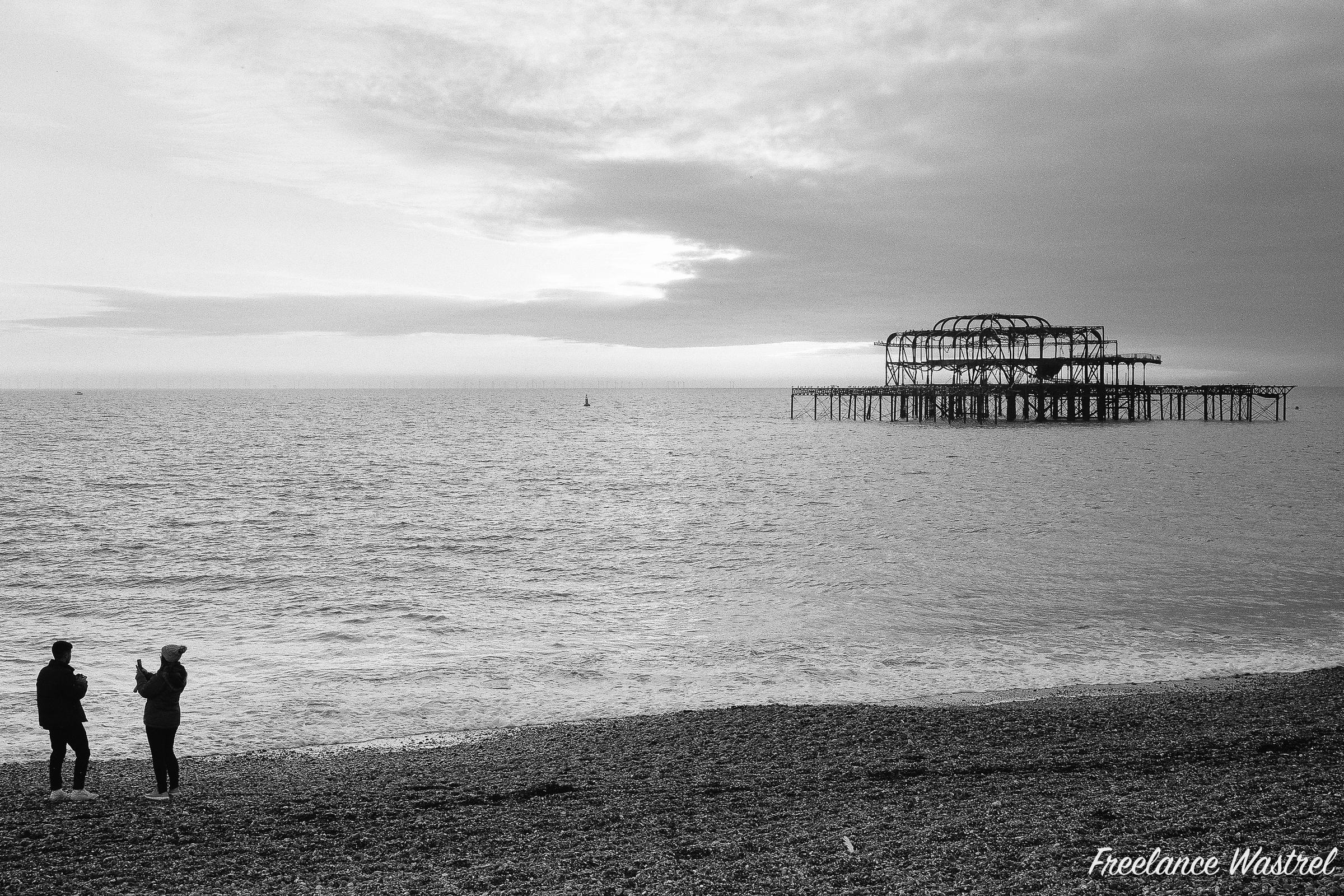 West Pier, Brighton, December 2018