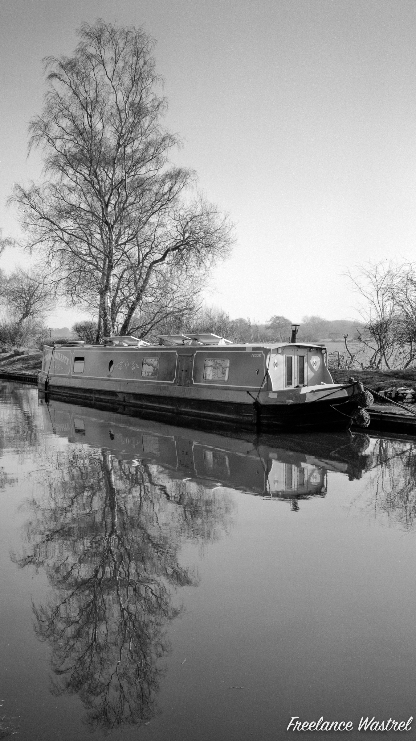 The narrowboat 'Tranquillity', February 2019