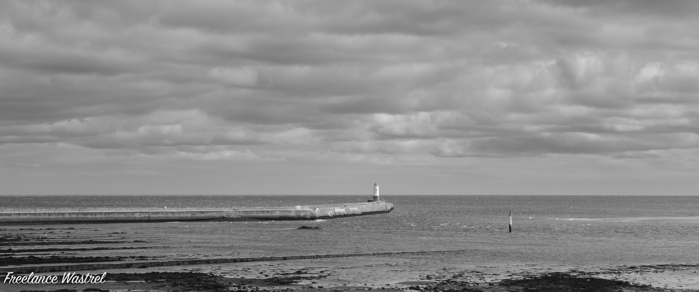 Berwick Breakwater Lighthouse, August 2019