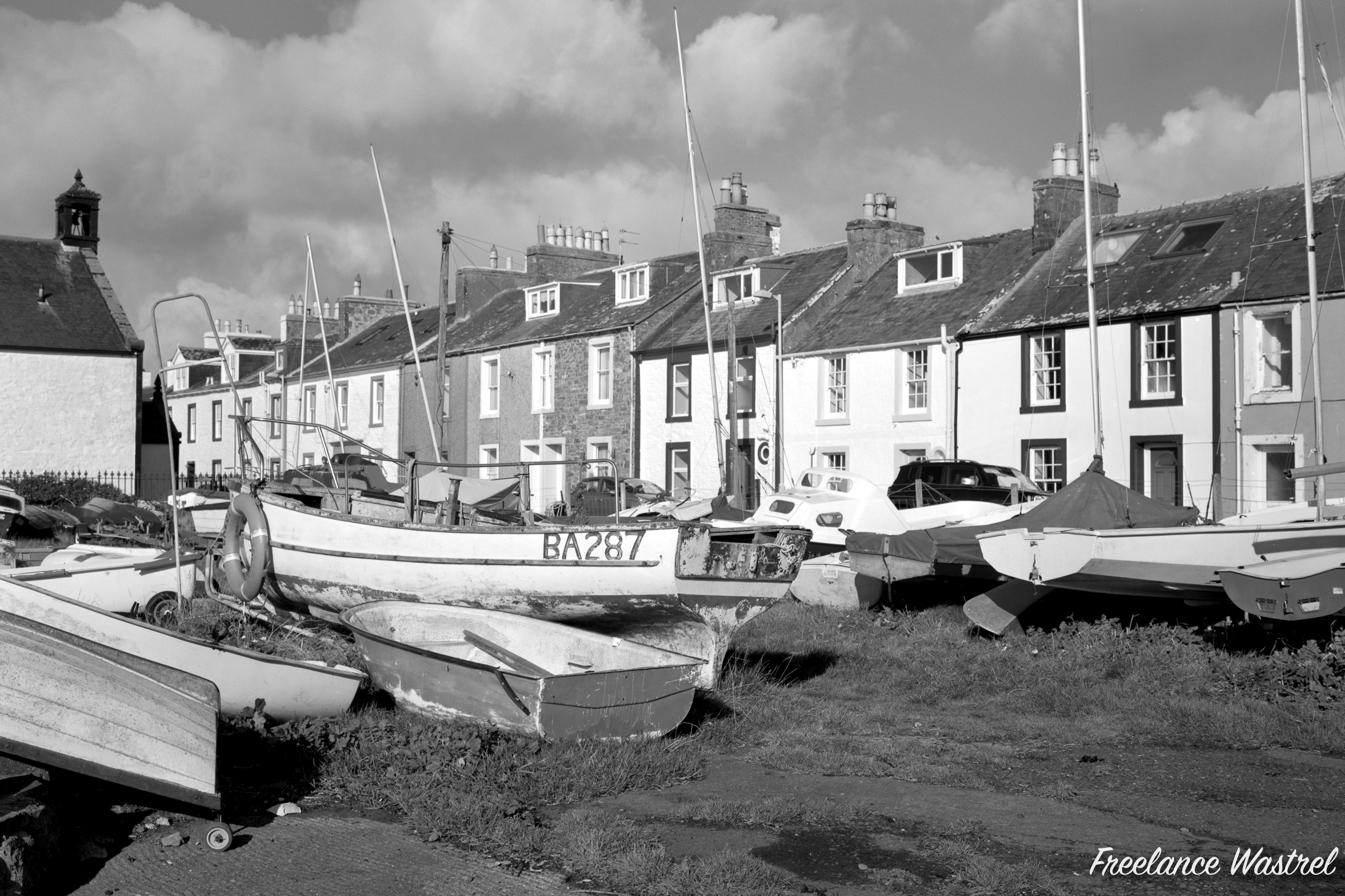 BA287, Isle of Whithorn