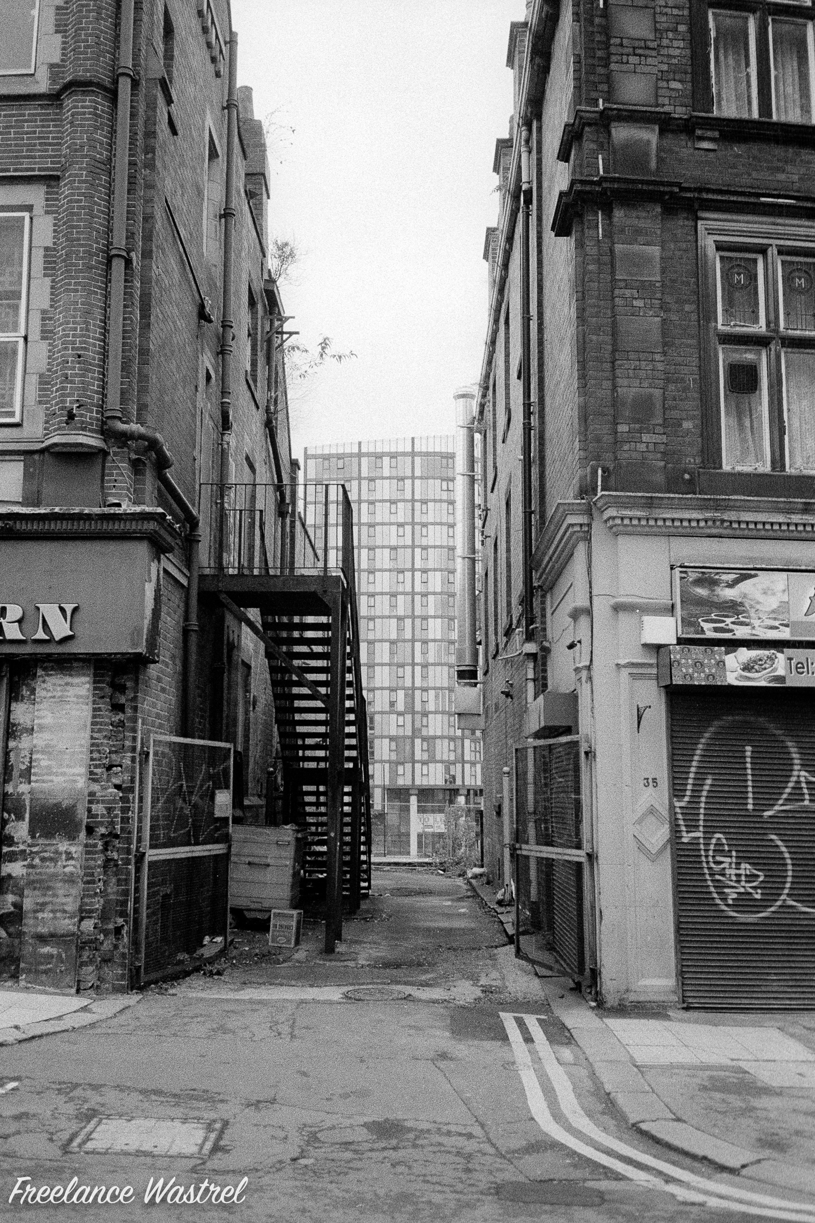 Alley, Exchange Street, Sheffield