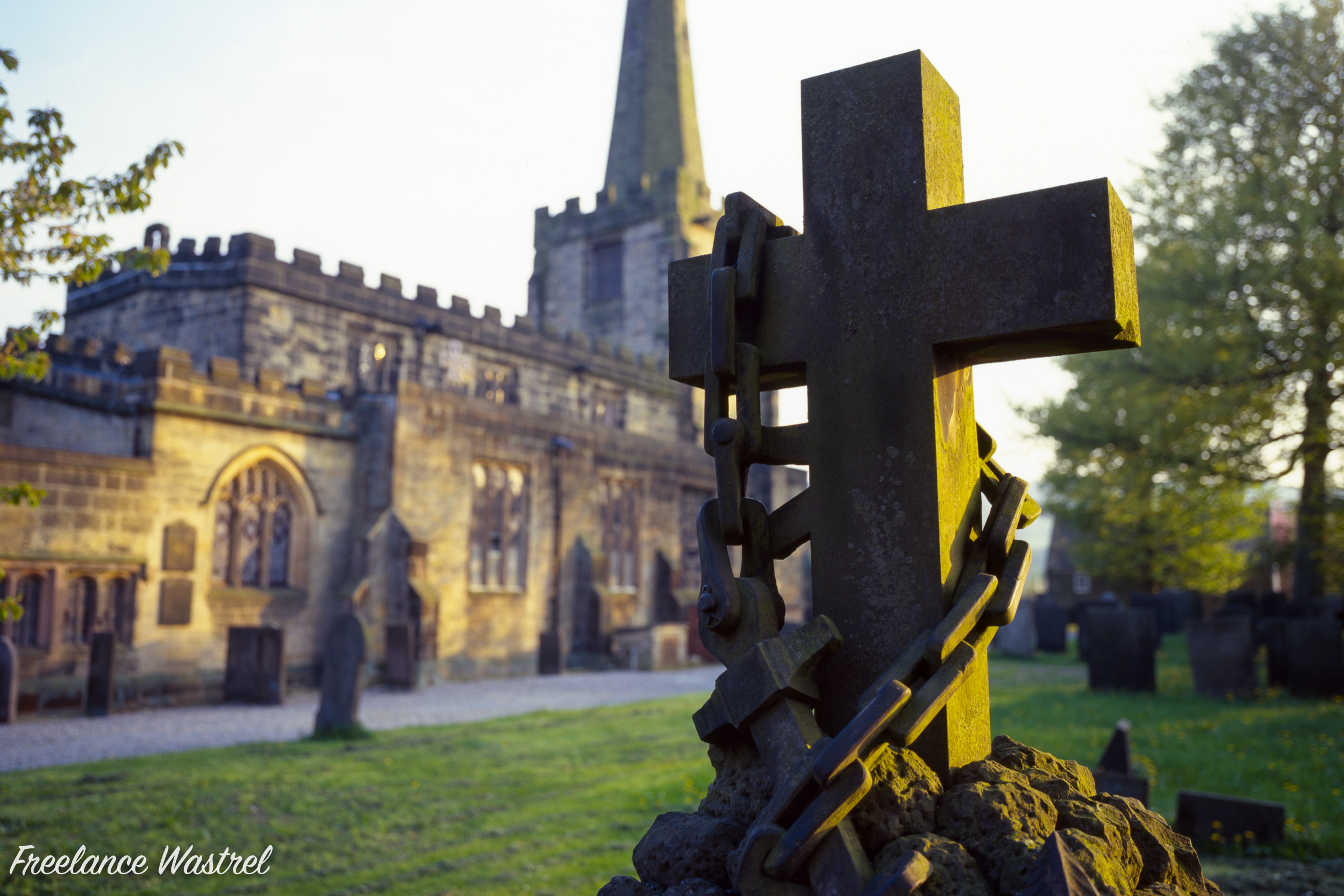 All Saints Church, Ashover, May 2000
